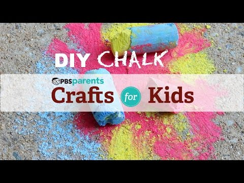 DIY Chalk | Crafts for Kids | PBS Parents