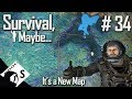 Survival, Maybe... #34 Making an LCD Map (A Space Engineers Survival Series)