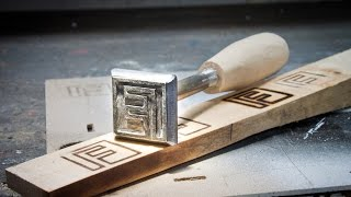 Making a Branding Iron - My Makers Mark
