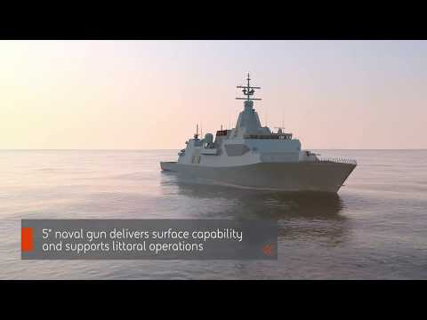 Type 26 Frigate Design for Canada CSC