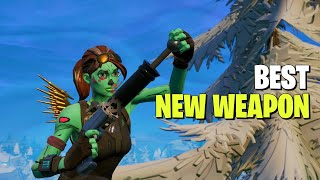 They Added A NEW DOUBLE PUMP - Fortnite New Weapon Update