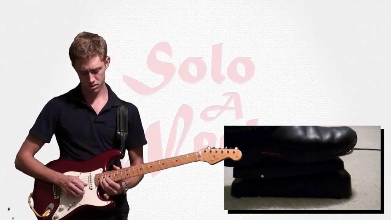 White Room (Live) Guitar Solo & Lesson - SoloAWeek 24 - Axe-Fx II ...