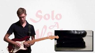 White Room (Live) Guitar Solo & Lesson - SoloAWeek 24 - Axe-Fx II - Solo A Week 24