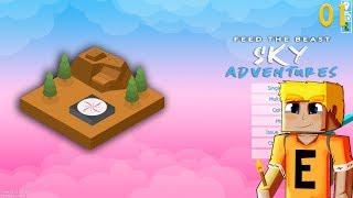 FTB Sky Adventures EP1 - First Look