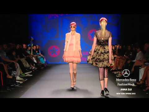 ANNA SUI FULL COLLECTION - MERCEDES-BENZ FASHION WEEK SPRING 2013 FULL COLLECTIONS