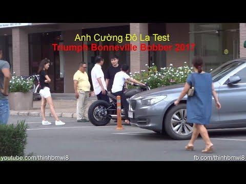 [ SIÊU HOT ] Mr Cường Đô La Tự Lái Siêu Moto PKL Triumph 580tr Mới Tậu Đi Cafe