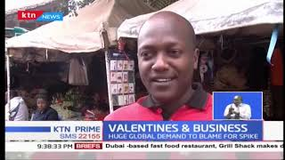 Kenya's flower business records boom as Valentine's Day nears