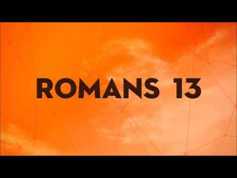 Romans 13 Sermon by the Revd Karl Przywala