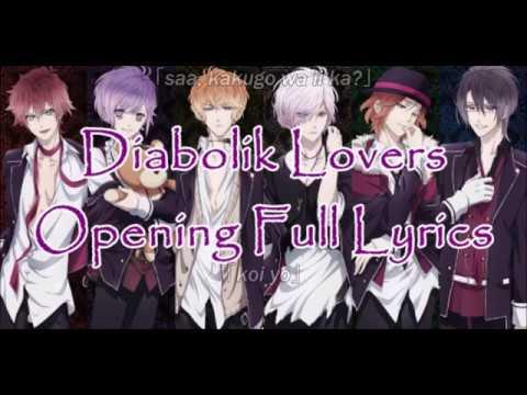 Diabolik Lovers | Opening Full Lyrics