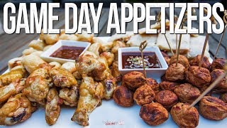 Easy Game Day Appetizers | SAM THE COOKING GUY 4K