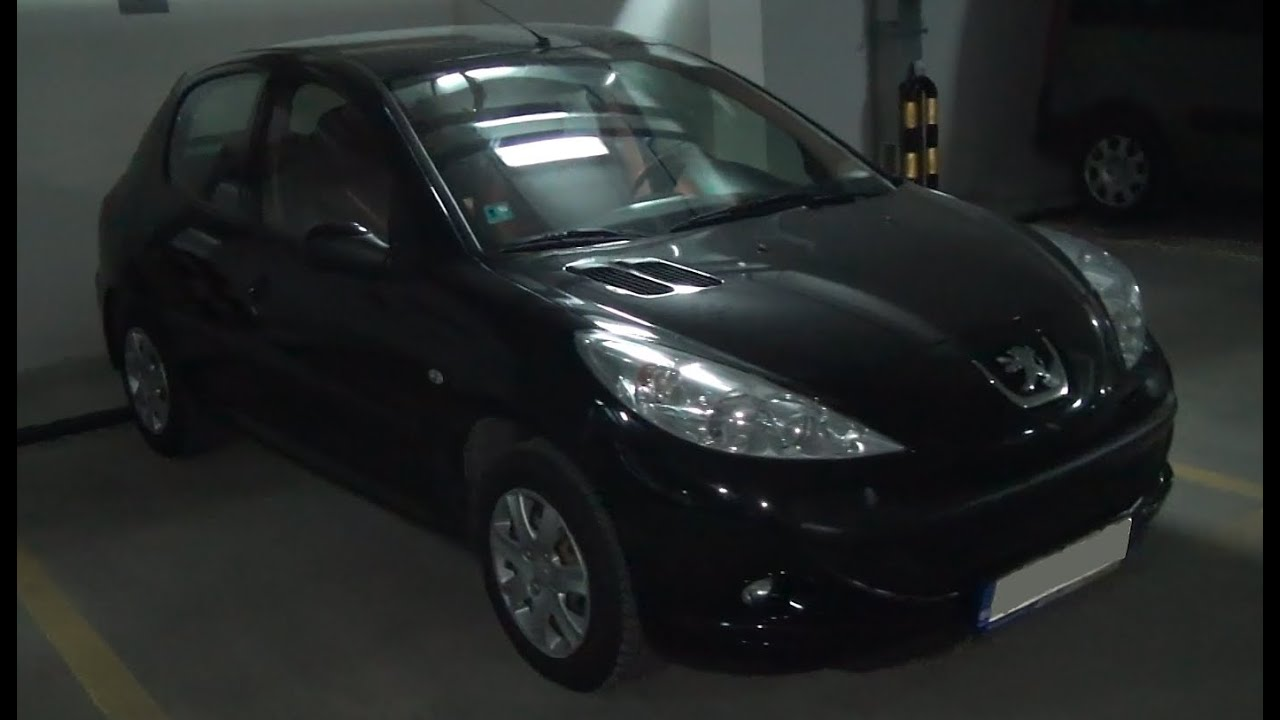 peugeot 206 trendy 1 4 hdi exterior and interior in full hd 3d youtube. Black Bedroom Furniture Sets. Home Design Ideas