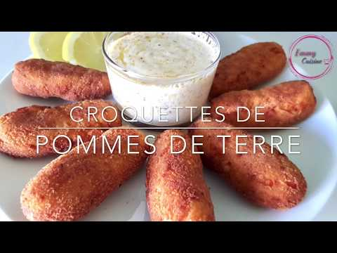croquettes-de-pommes-de-terre,-sauce-à-l'ail