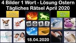 4 Bilder 1 Wort - Ostern - 18.04.2020 - April 2020 Tägliches Rätsel + Tägliches Bonus Rätsel