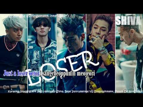 BIGBANG - LOSER [ Karaoke HD Full Beat ]