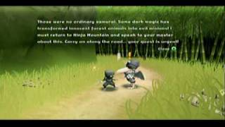 Mini Ninjas ( Xbox 360 ) Introduction and Review