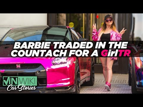 Barbie traded in the Countach for a GT-R
