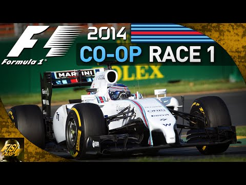 F1 2014 | Co-op Championship - Race 1 Australia (Live Commentary)