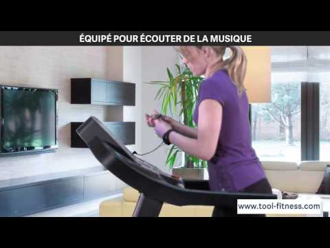Techness T1100 Mp3 Tapis De Course Tool Fitness Youtube