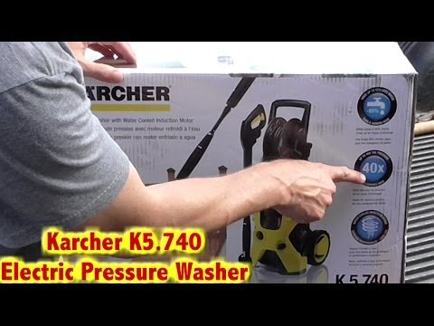 Karcher X-Series Electric Pressure Washer-2000psi-Unboxing Vid