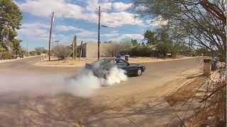 87 toyota supra turbo burnout