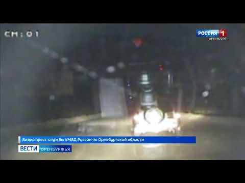 Гонки со стрельбой. Сотрудники ГИБДД Орска задержали пьяного водителя