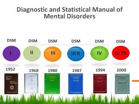Diagnostic and Statistical Manual of Mental Disorders (History).wmv