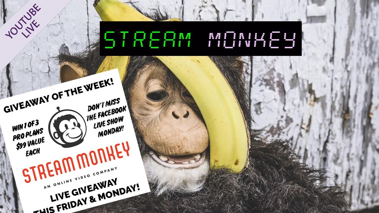 Stream Monkey 🙊 YouTube Live Exclusive on Premium CDN Streaming