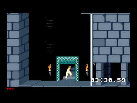 DOS Prince of Persia TAS - 12:20.58 - with commentary |