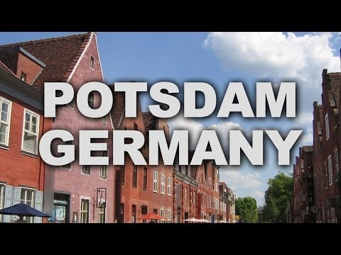 Potsdam, the Capital of Brandenburg, Germany