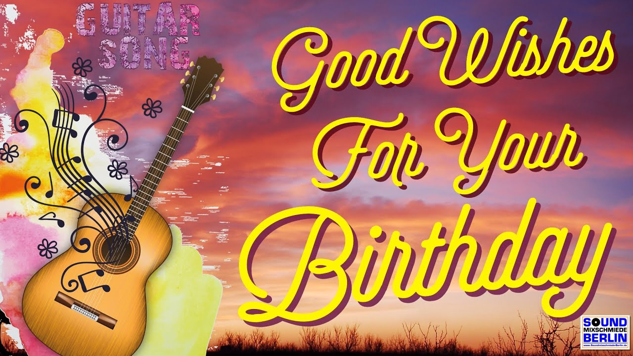 New Birthday Song for Adults ❤️ Good Wishes for your Birthday Song 🎶Male  Country Style for WhatsApp