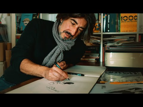 Cartoonist in Lisbon | People of Lisbon | Episode 018