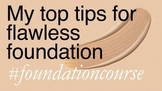 Quick Tips for Perfect Foundation