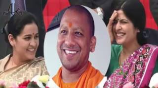 Yogi Adityanath का Mulayam की दोनों बहुअाें से क्या है रिश्ता...