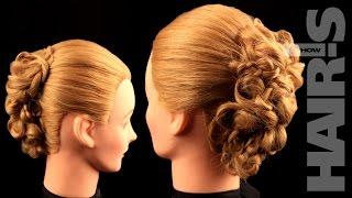 Прическа из мелких кос - видеоурок (мастер-класс) Hair's How