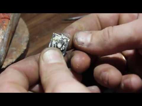 как сделать припой для серебра