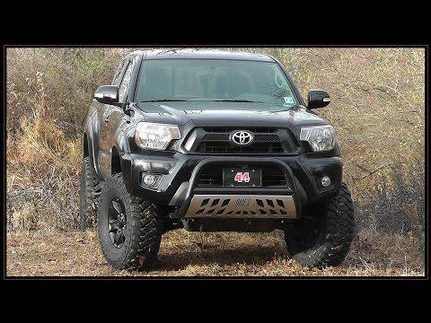 Toyota Tacoma Bull Bar >> Toyota Tacoma 5 Inch Lift - YouTube