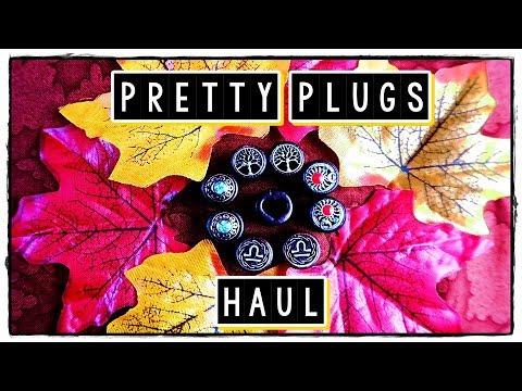 °˖✧Super Cheap Pretty Ear Plugs✧˖°   Ebay Haul  