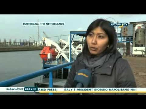 Kazakh marine engineers train at Netherlands Maritime university