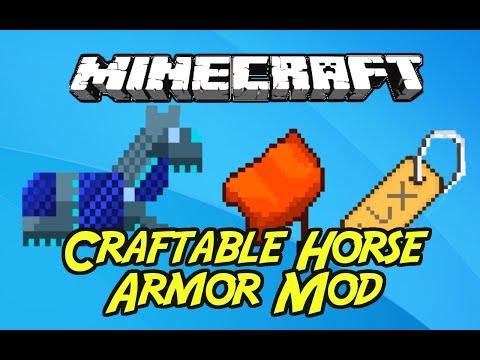 1 7 10] Craftable Horse Armor Mod Download | Planeta Minecraft