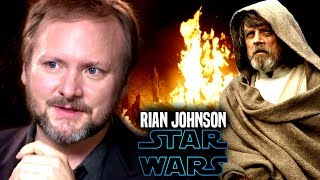 Star Wars! Rian Johnson Admits He's A Bad Writer In Old Interview & More!