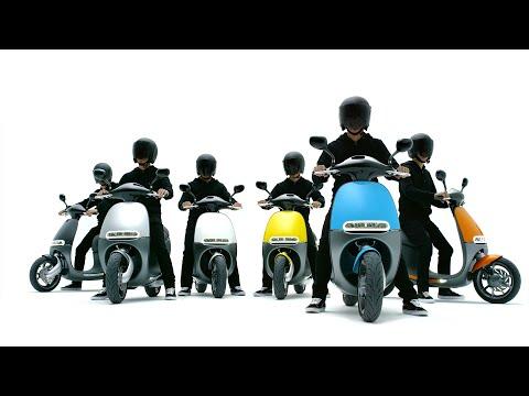 Quảng cáo xe máy điện Gogoro Smartscooter