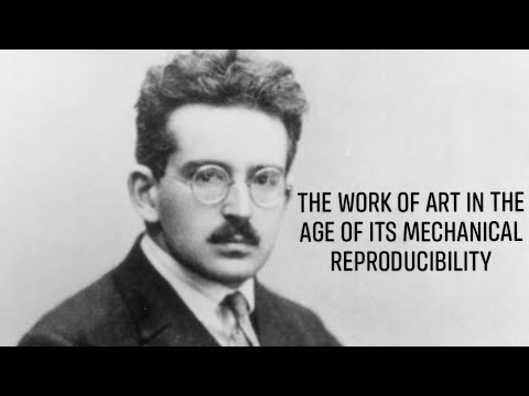 """Walter Benjamin's """"The Work of Art in the Age of Its Mechanical Reproducibility"""""""