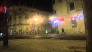 Португалия. Едем на такси по ночному Лиссабону. День 3