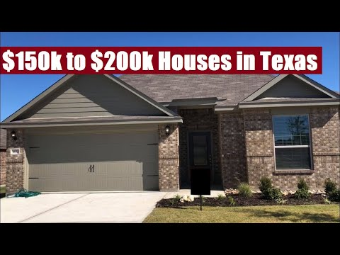 What Does A $150k To $200k House Look Like In Texas? (DR Horton Express!)