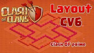 Layout CV6 Hibrido/Guerra |TH 6 Layout War/Push