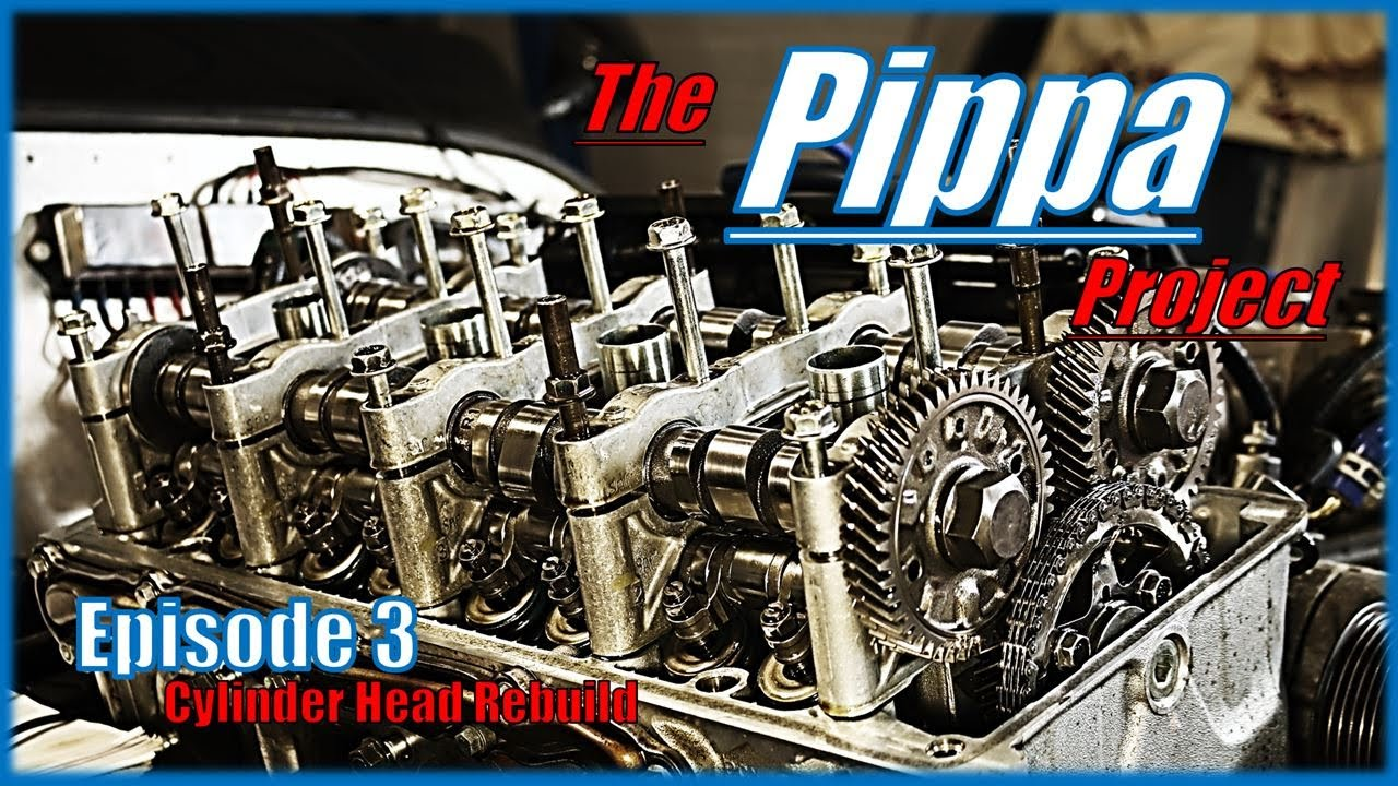 The Pippa Project - Honda S2000 Powered Haynes Roadster - Part 3: Cylinder Head Rebuild