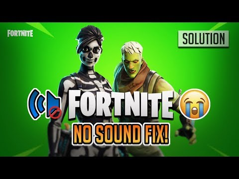FIX Audio Problem In Fortnite Battle Royale PC, Xbox One, PS4 - Chapter 2 Season 1