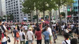 LGBT parade in Taipei, Taiwan, Oct 2019 (1/6)