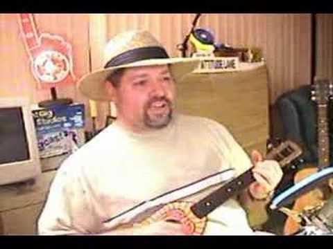 Pencil Thin Mustache - Buffett ukulele cover