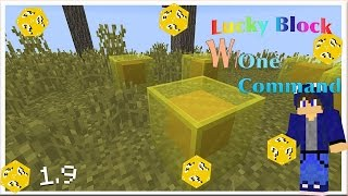 Minecraft - Lucky Block with only one command   1.9   HDJO